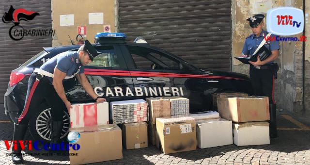 500 kg di sigarette sequestrate aNapoli, Secondigliano e Ottaviano