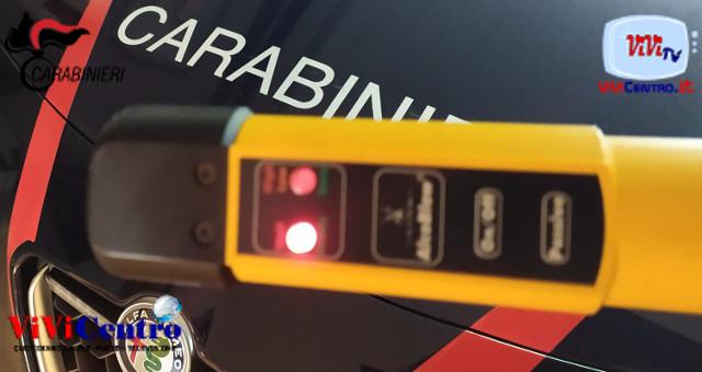 CC di Aurisina TS, controlli tasso alcolico ad automobilisti