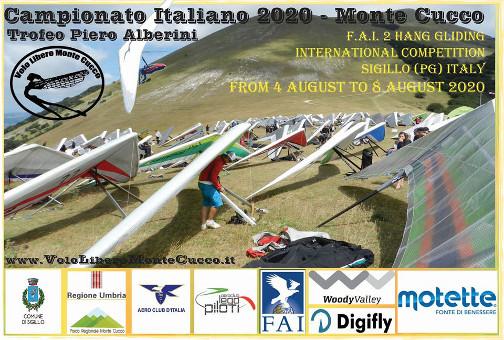 Campionati nazionali 2020 di deltaplano e parapendio