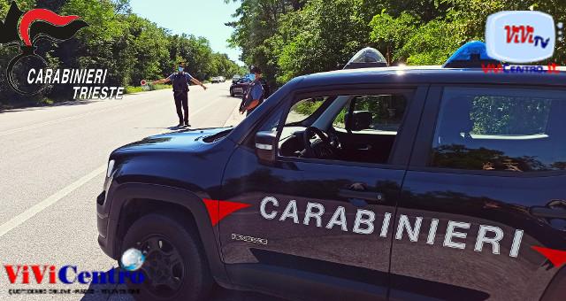 Carabinieri Trieste, controlli a Prosecco