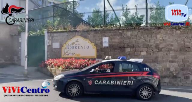 Arrestato 45enne per furto aggravato in flagranza di reato Carabinieri, controlli Movida Penisola Sorrentina