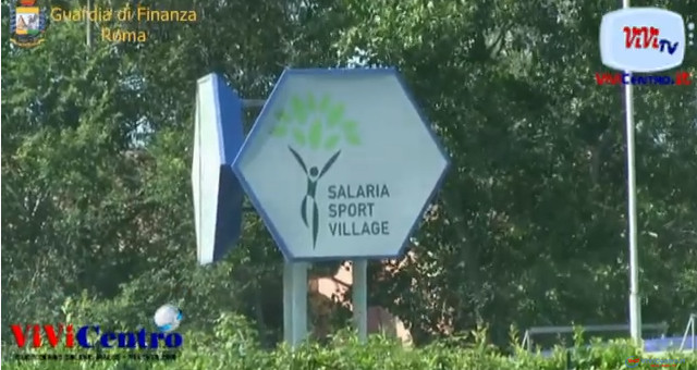 """Confiscato a Diego Anemone, in via definitiva, il centro """"Salaria Sport Village"""""""