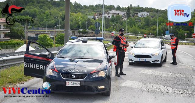 Controlli Carabinieri di Isernia, intensificati i controlli