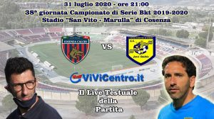 Cosenza Juve Stabia Live