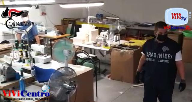 Denunciati 2 cinesi titolari di laboratori tessili a Marmirolo (MN)