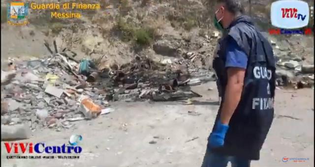Due discariche abusive sono state sequestrate a Letojanni e Pagliara nella Riviera Jonica messinese