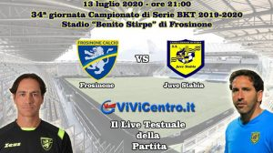 Frosinone Juve Stabia Live