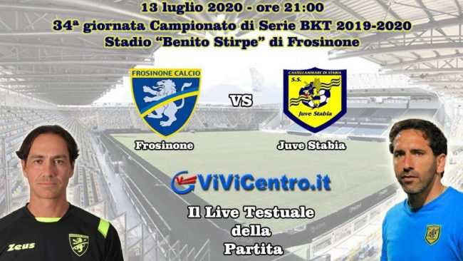 Frosinone Juve Stabia Live