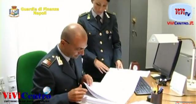 GDF NAPOLI, FALSO IN BILANCIO E BANCAROTTA FRAUDOLENTA, DUE ARRESTI
