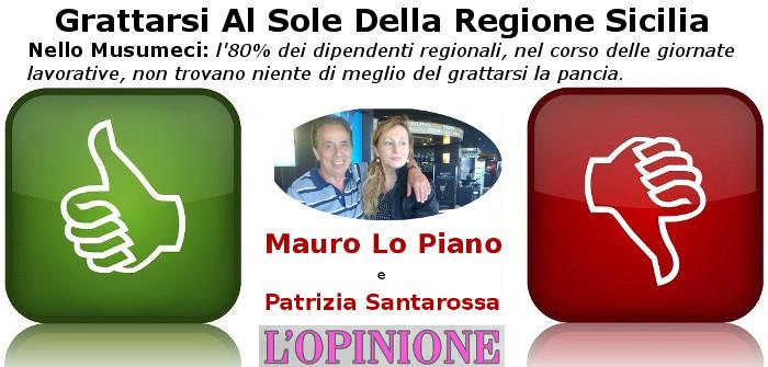 Grattarsi Al Sole Della Regione Sicilia