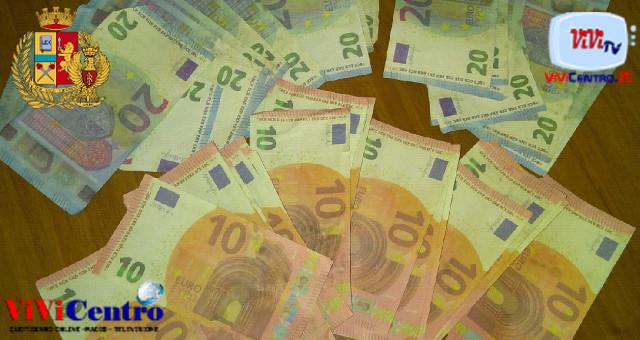 arrestato un 48enne per detenzione di banconote false