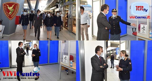Riapre il Box della POLIZIA di STATO nella stazione di Napoli Centrale