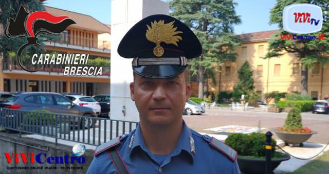 M.O. Sergio De Vietro, comandante Stazione di Brescia San Faustino