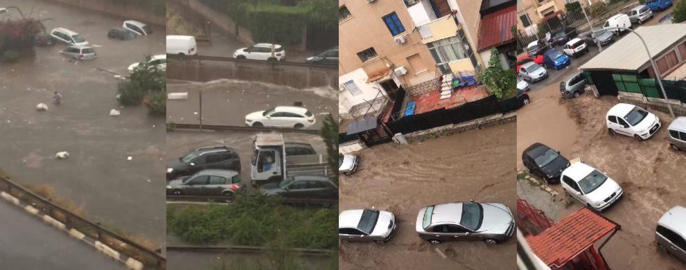 Nubifragio su Palermo. Due morti affogati nell'auto sommersa
