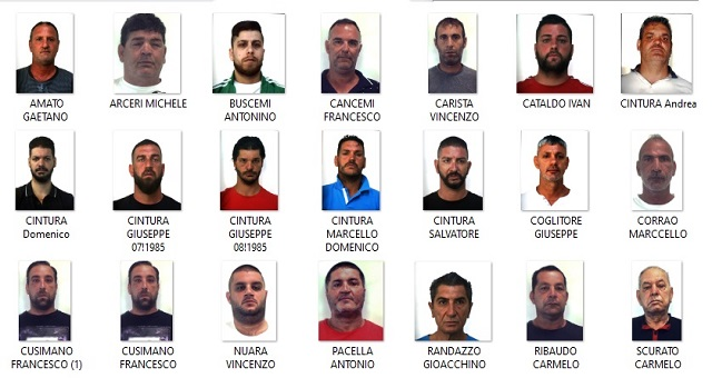 Palermo: 37 indagati e 24 misure cautelari in tuttala Penisola