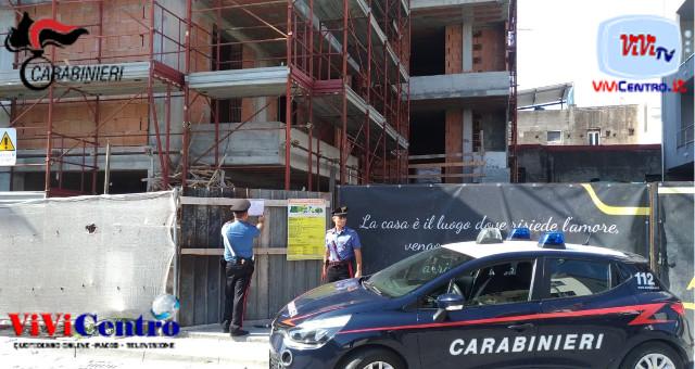 Poggiomarino, controlli dei Carabinieri sui cantieri