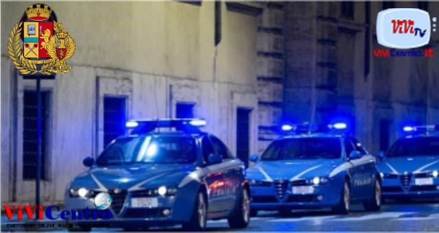 Polizia di Stato, volanti di notte