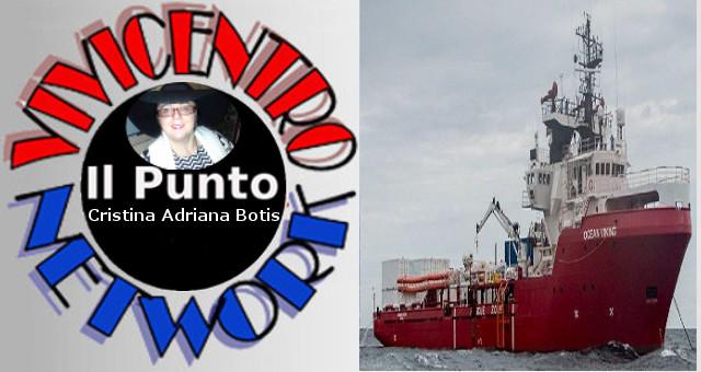 Porto Empedocle, sequestrata l'Ocean Viking