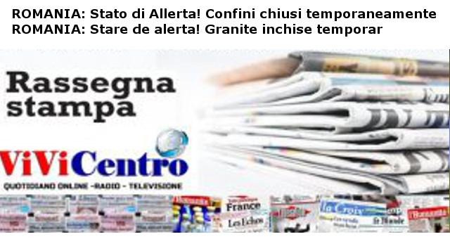 ROMANIA, Stato di Allerta - România, Stare de alerta