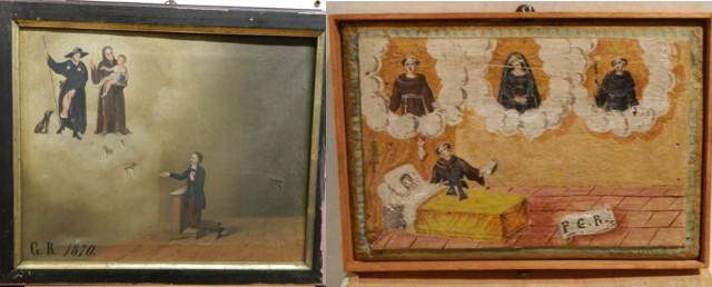 Restituite 50 opere d'arte sottratte