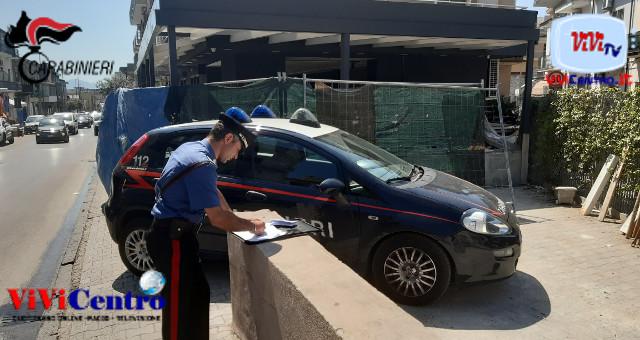 Stretta dei carabinieri sui cantieri