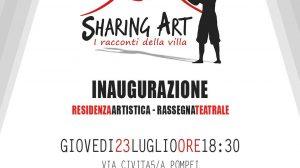 SHARING ART locandina