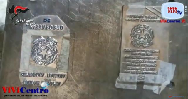 SOMMA VESUVIANA, Carabinieri smantellano centrale del falso