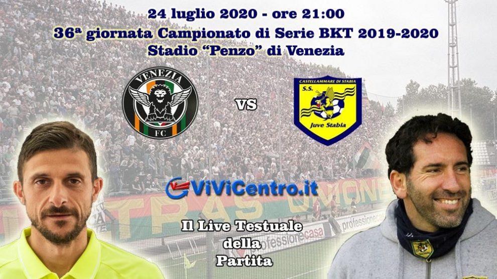Venezia Juve Stabia Live