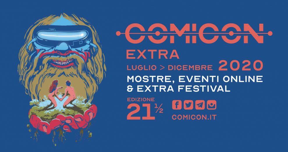 comicon extra campania foto free facebook locandina