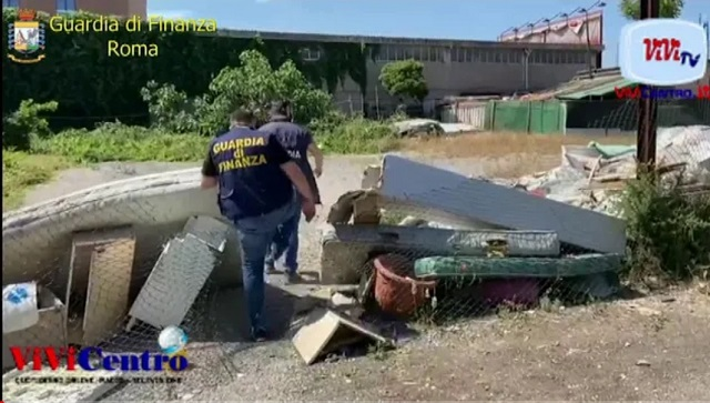 GDF Roma - Discarica prenestino
