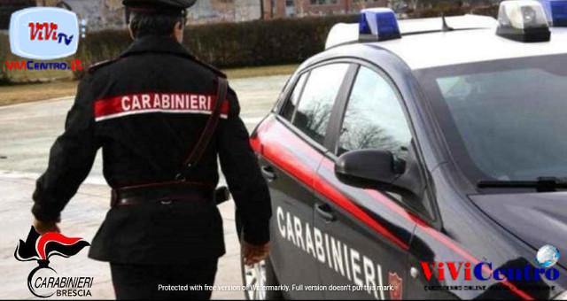 Arrestato dai CC di Breno un 25enne per maltrattamenti al padre 58enne