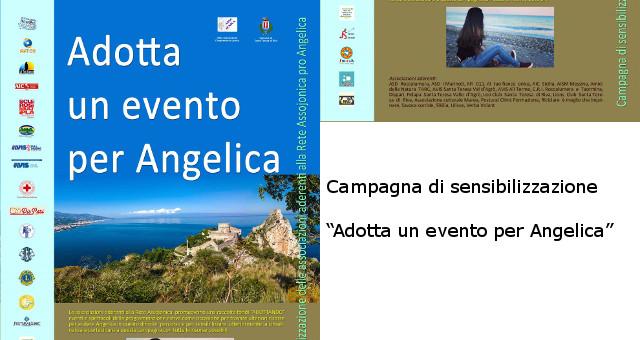 Campagna di sensibilizzazione Adotta un evento per Angelica 1