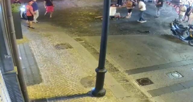 Il carabiniere è stato violentemente picchiato