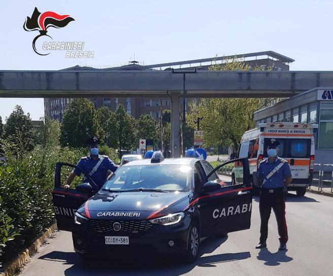 Arrestato un uomo per furto da distributori in ospedale a Montichiari