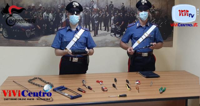 Carabinieri Sgominata una banda di ladri d'auto
