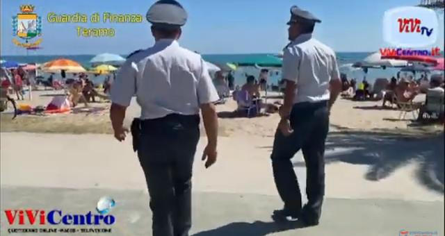 Compagnia Giulianova GdF Teramo, scoperto stabilimento balneare abusivo