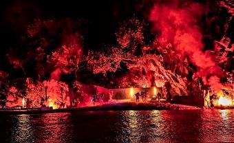 Applausi per l'Inferno, i vulcanetti e l'Alcantara protagonisti