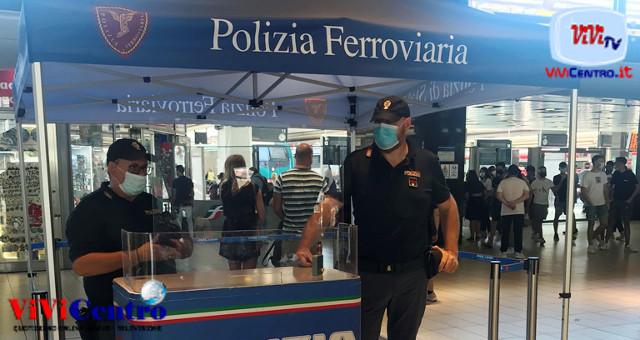 Controlli Polizia nelle stazioni e sui treni della Campania