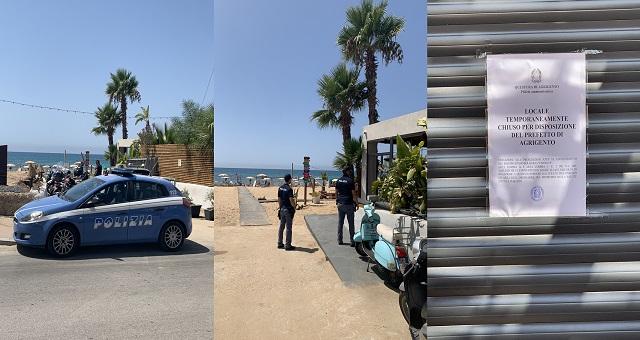 La Polizia di Stato di Agrigento nello scorso fine settimana eseguiva