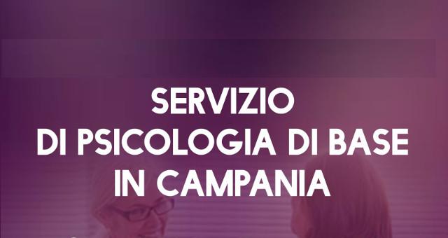 Servizio di psicologia di base in Campania