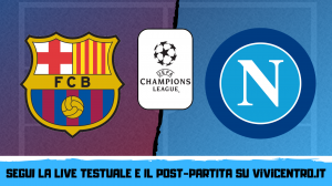 barcellona napoli champions league