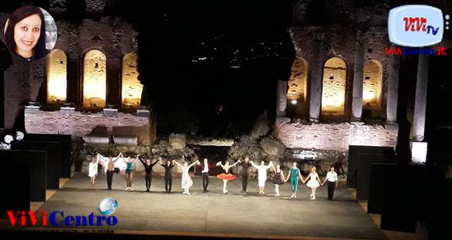 Eccellenze italiane sul palcoscenico del Teatro Antico di Taormina