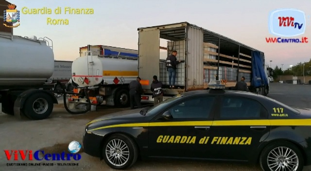 GDF Roma- Arresti per traffico di cherosene
