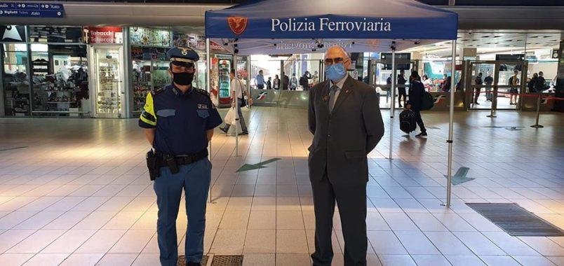 polizia ferroviaria stazione polfer allarme bomba napoli foto free alviti