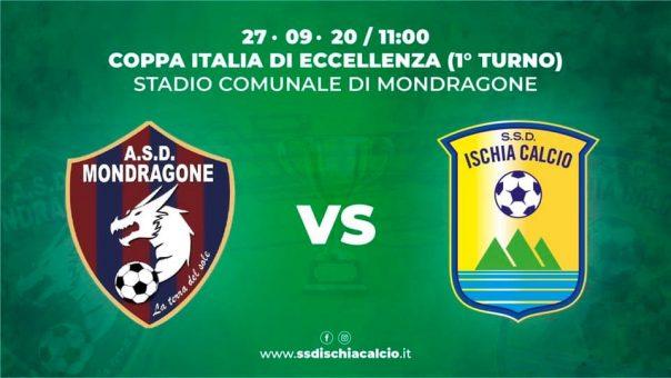 Eccellenza Coppa Italia-Ischia: Billoncino out, recupera Gianluca Saurino
