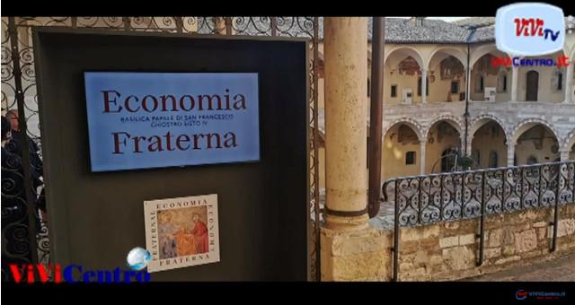 APERTURA SESTA EDIZIONE CORTILE DI FRANCESCO E INAUGURAZIONE MOSTRA 'ECONOMIA FRATERNA'