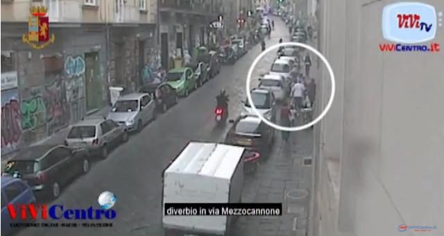 Aggressione in piazza Bellini NA, due persone denunciate