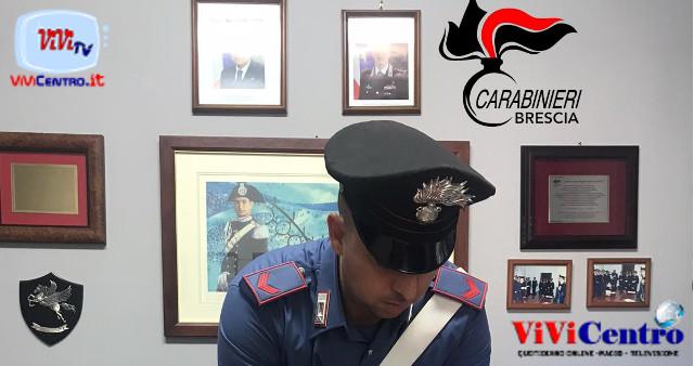 Carabinieri Brescia, una lite in casa porta all'arresto per droga