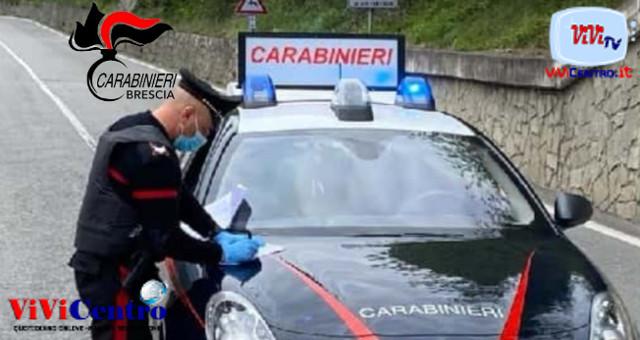Carabinieri di Edolo (BS), pattuglia