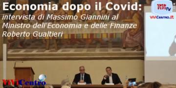 Economia dopo il Covid, intervista di Giannini a Gualtieri
